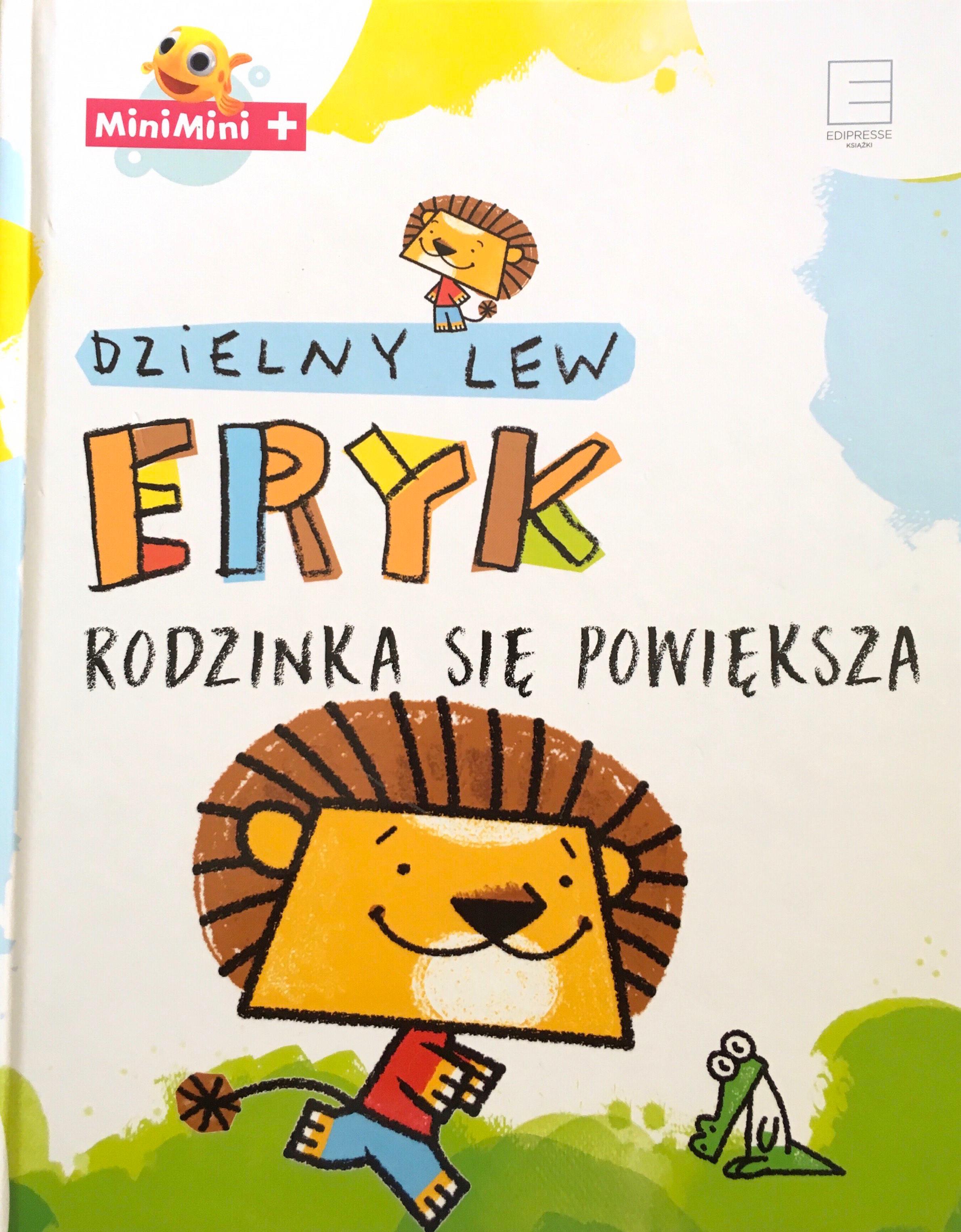 Dzielny Lew Eryk - rodzinka się powiększa