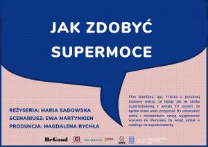 Jak zdobyć supermoce - scenariusz Ewa Martynkien