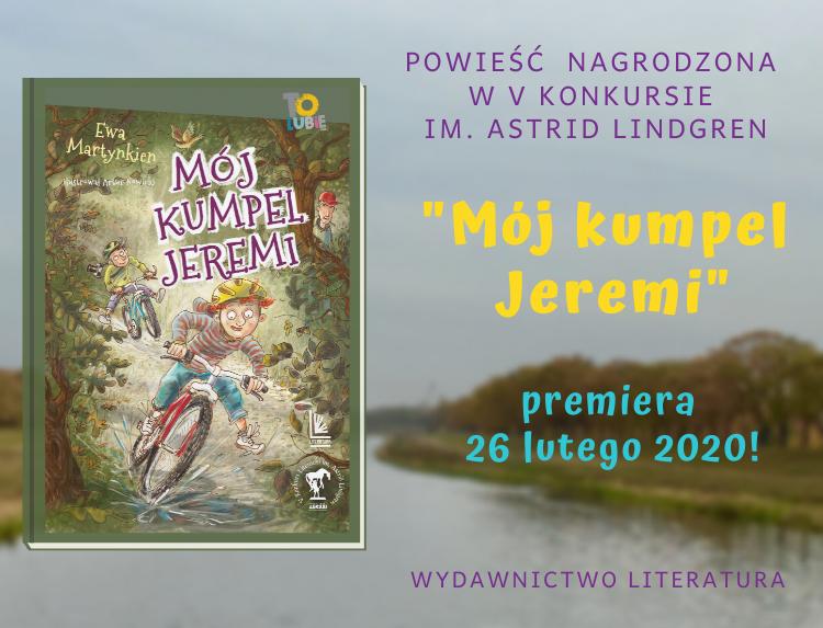 """Premiera powieści """"Mój kumpel Jeremi"""""""