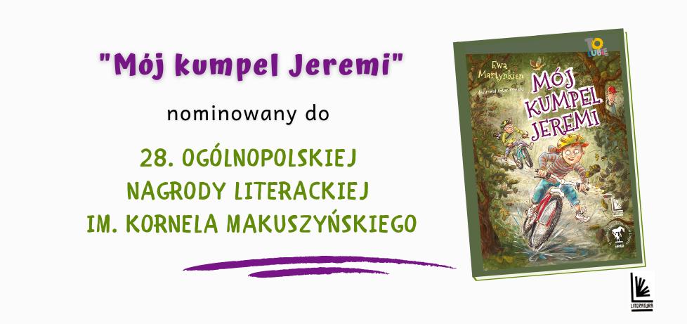Mój kumpel Jeremi nominowany do prestiżowej nagrody!
